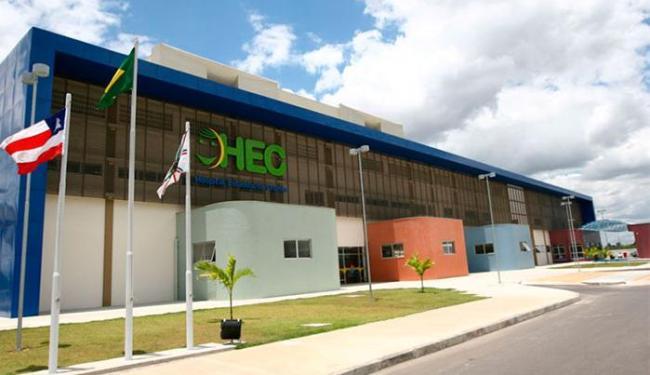 Criança está internada no Hospital da Criança, em Feira de Santana - Foto: Divulgação | Ascom
