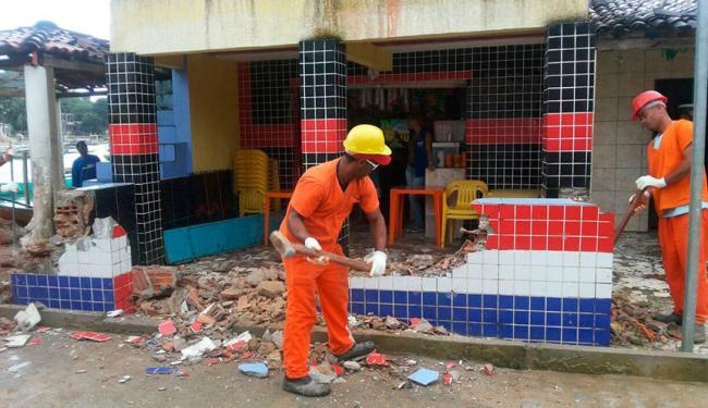 Sucom já derrubou 15 construções consideradas irregulares - Foto: Divulgação | Sucom