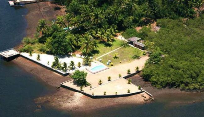 Ilha do Gato, em Camamu, está a venda por US$ 3,3 milhões - Foto: Reprodução | Private Islands Online