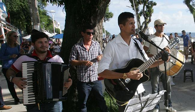 Bandas de vários estilos se apresentaram nesta quinta no Independence Daze BrewGrass - Foto: Fernando Amorim | Ag. A TARDE