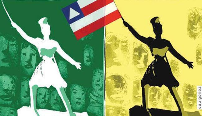 Independência da Bahia - Foto: Editoria de Arte | Cau Gomez | Ag. A TARDE