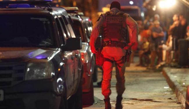 Reconstituição do caso durou cerca de 9h - Foto: Lúcio Távora | Ag. A TARDE, Data: 27/05/2015
