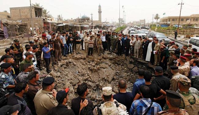 Além das fatalidades, pelo menos 170 pessoas ficaram feridas no ataque, segundo policiais - Foto: Agência Reuters