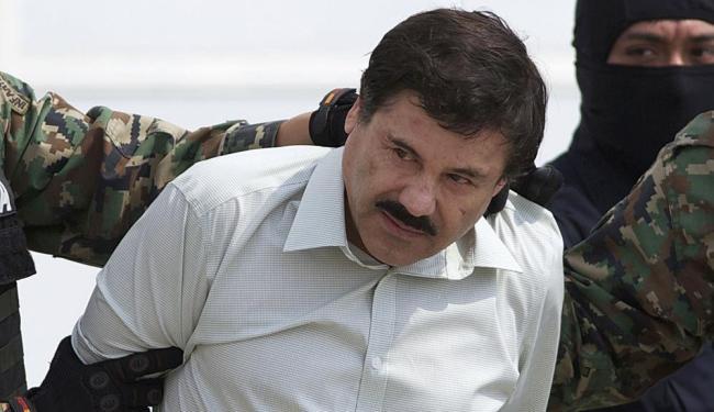 El Chapo cumpria mais de 20 anos de prisão - Foto: Eduardo Verdugo | AP Photo | 26.01.2015