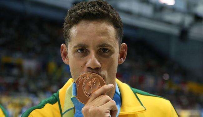Thiago Pereira ganhou o bronze e bateu recorde de medalhas no Pan - Foto: Satiro Sodré | SSPress
