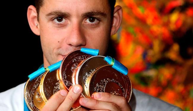 Thiago Pereira é recordista do Pan-Americano com 23 medalhas - Foto: Satiro Sodré | SSPress