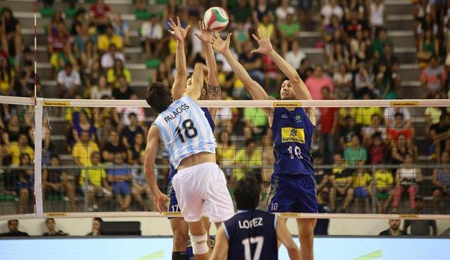 Time B do Brasil perdeu por 3 sets a 0 para a Argentina, em João Pessoa - Foto: Divulgação   CBV