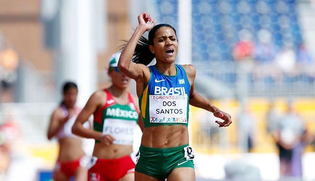Juliana ultrapassou mexicana e americana no final - Foto: Agência Reuters