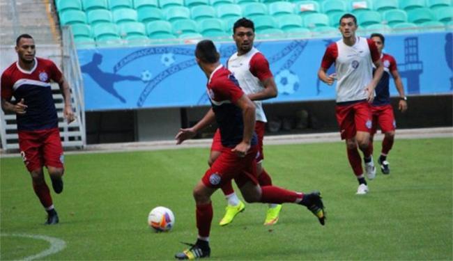 A expectativa é que K9 esteja pronto para entrar contra o Vitória, no sábado - Foto: Felipe Oliveira   E.C.Bahia