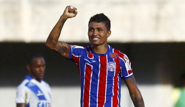 Atacante é o artilheiro do time nesta temporada - Foto: Eduardo Martins | Ag. A TARDE | 15.03.2015