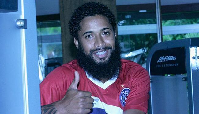 Lateral diz que gosta de apelido que ganhou com barba gigante: 'Acho engraçado' - Foto: Margarida Neide   Ag. A TARDE