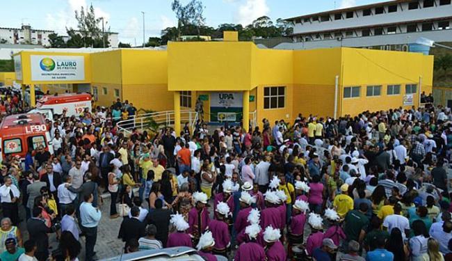 Cidade teve ontem um dia festivo, com inauguração das duas unidades médicas - Foto: Ascom Lauro de Freitas l Divulgação