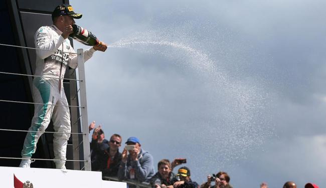 Lewis Hamilton fez a