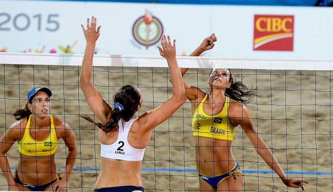 Lili e Carolina Horta estão entre os quatro melhores do torneio, brigando por medalhas - Foto: Divulgação | CBV