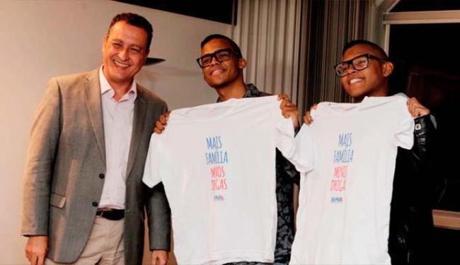 Artistas foram recebidos pelo governador Rui Costa - Foto: Amanda Oliveira | GOVBA
