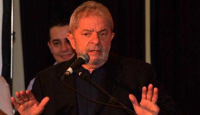 Em nota, o Instituto Lula diz que recebeu com surpresa a abertura do inquérito - Foto: Erik Salles | Ag. A TARDE