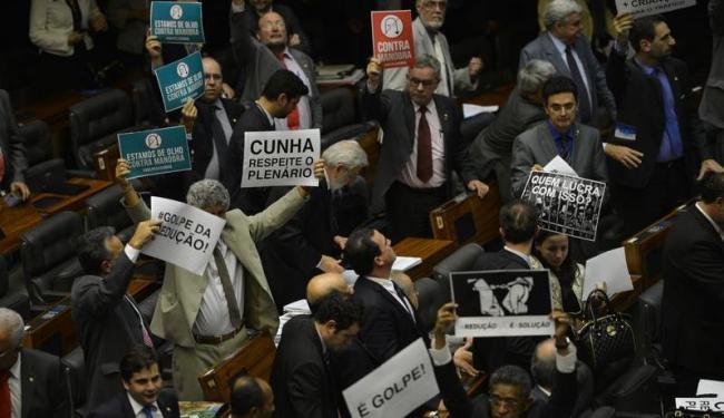 Plenário da Câmara aprova PEC da redução da maioridade penal - Foto: Agência Brasil
