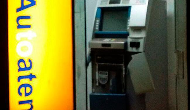Bandidos não conseguiram levar dinheiro do caixa - Foto: Blog Sigi Vilares