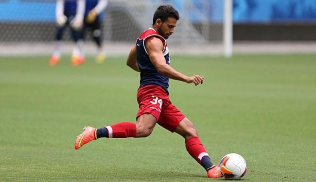 Recuperado, Maxi volta ao ataque após dois jogos de ausência - Foto: Felipe Oliveira l E.C. Bahia