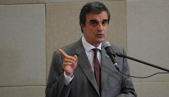 Ministro divulgou relatório nacional sobre tráfico humano - Foto: Antonio Cruz l Agência Brasil