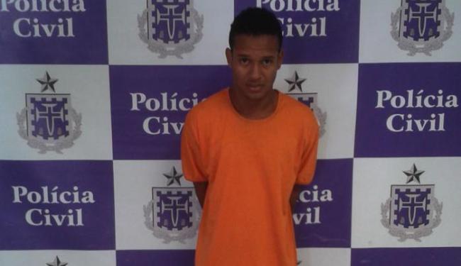 Lucas Santos Nascimento, 21 anos, foi encontrado na casa de um tio em Mutuípe - Foto: Ascom | Polícia Civil