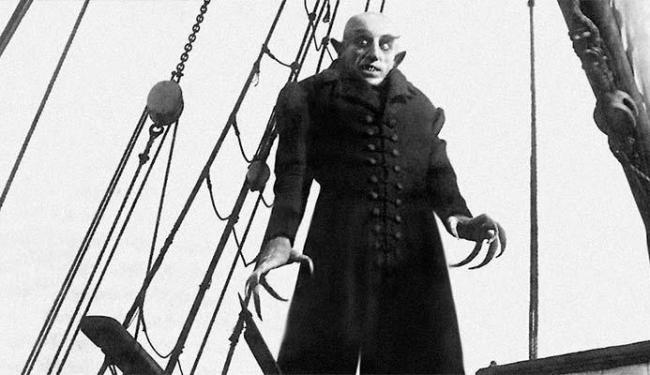 Nosferatu é um clássico dos filmes de terror - Foto: Divulgação