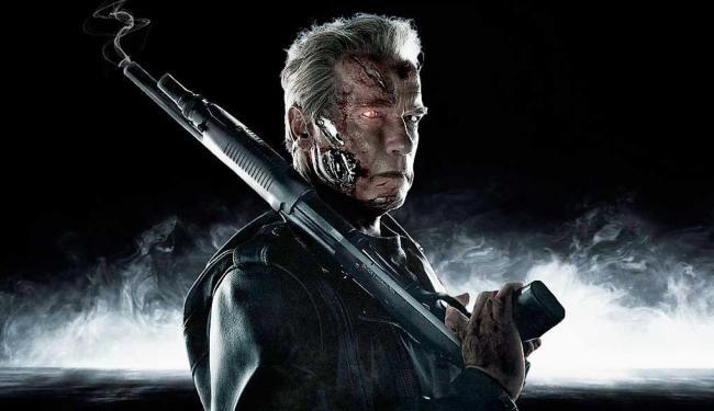 Como robô protetor, Schwarzenegger recria a história da série - Foto: Divulgação