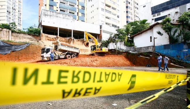 Codesal diz que intervenções na área onde ocorreu deslizamento estão de acordo com as normas - Foto: Mila Cordeiro | Ag. A TARDE