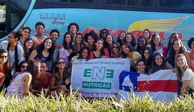 Estudantes viajaram para um encontro em Minas Gerais - Foto: Reprodução | Facebook