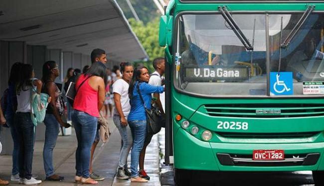 Ônibus vão partir da Estação da Lapa, no centro de Salvador - Foto: Joá Souza   Ag. A TARDE