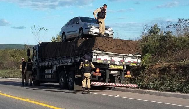 Ao todo 1.102 veículo foram vistoriados - Foto: Ascom | PRF