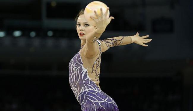 Angélica Kvieczynski é a terceira colocada no geral com 30,600 pontos - Foto: Tom Szczerbowski-USA TODAY Sports | Reuters
