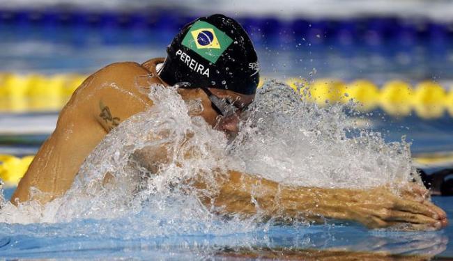 Thiago Pereira desiste de prova dos 100m peito visando final dos 400m medley - Foto: Rob Schumacher-USA TODAY Sports | Reuters
