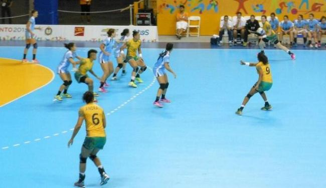 Brasil vence Uruguai por 40 a 22 e garante vaga na final do handebol no Pan 2015 - Foto: Reprodução | @TimeBrasil