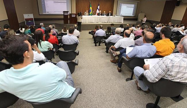 Lançamento do plano reuniu representantes da Anac, de municípios e empresas - Foto: Elói Corrêa l GOVBA