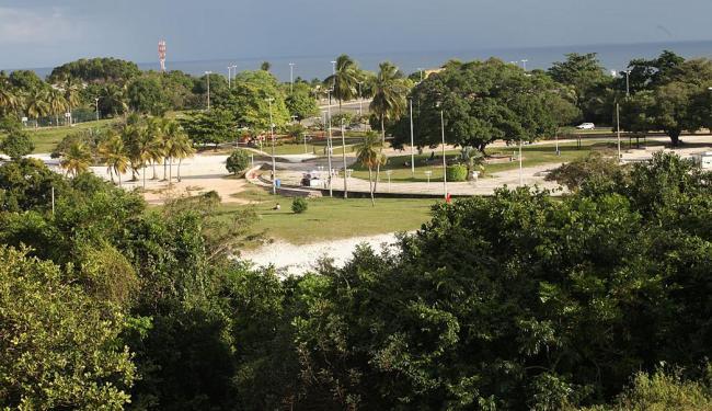 Parque fica em uma área elevada, de onde se vê o mar - Foto: Margarida Neide | Ag. A TARDE | 10.07.2015
