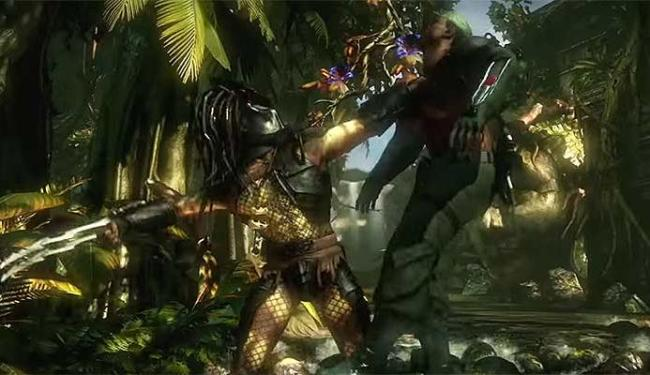 Predador enfrenta inimigos e os atinge com as garras - Foto: Reprodução