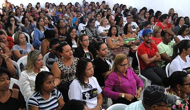 Professores pedem reajuste de 13,01% - Foto: Jeremias Barreto | Simpi