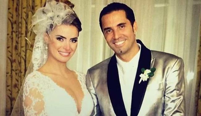 Rayanne e Latino casaram há pouco mais de um ano em uma festa no Copacabana Palace - Foto: Divulgação