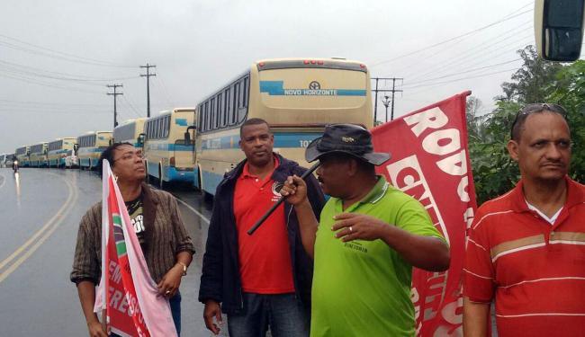 Rodoviários realizam manifestação em Candeias nesta terça - Foto: Divulgação