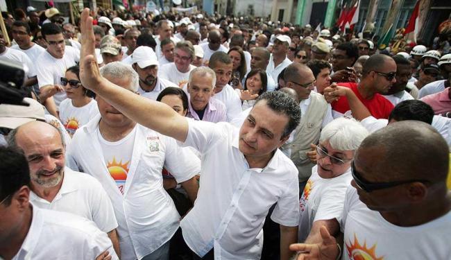 Rui também não falou se teria um nome para apoiar na candidatura pela prefeitura de Salvador - Foto: Raul Spinassé   Ag. A TARDE