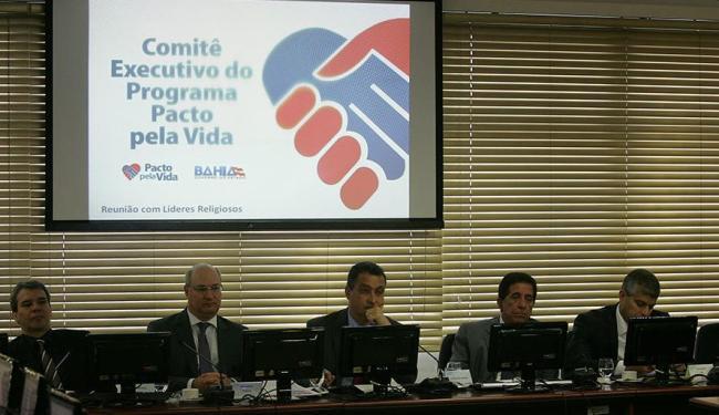 Rui Costa anunciou que próximo encontro será com grupos culturais - Foto: Eduardo Martins | Ag. A TARDE