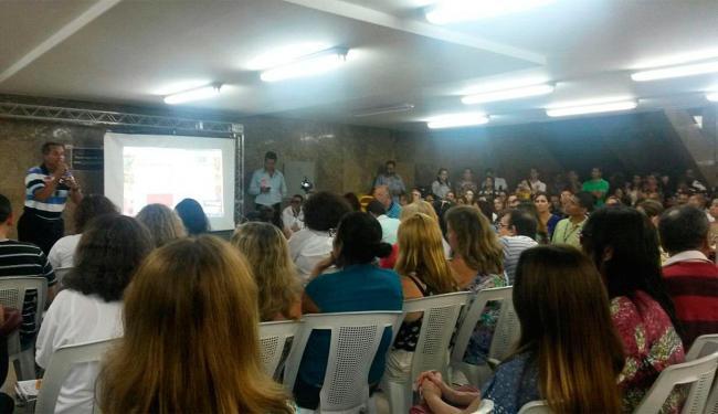 Assembleia foi realizada no auditório do prédio do TRT, no Comércio - Foto: Manoel Pinto | Cidadão Repórter