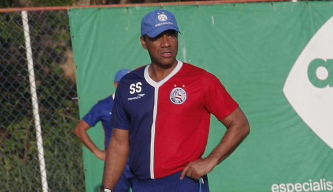 Na final do Baianão, Sérgio Soares fez o Bahia reverter um 3 a 0 - Foto: Margarida Neide   Ag. A TARDE