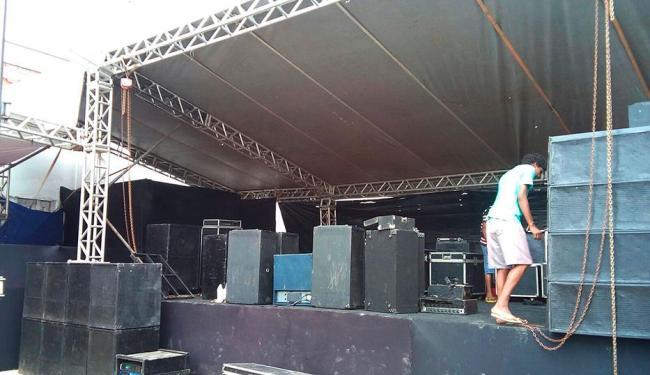 Show foi embargado no sábado, 11 - Foto: Sucom   Divulgação
