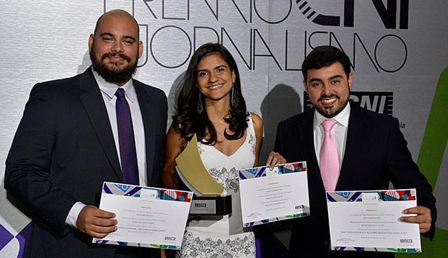 A reportagem premiada foi realizada pela repórter Tatiana Mendonça e pelo fotógrafo Fernando Vivas - Foto: Paulo Lacerda l CNI