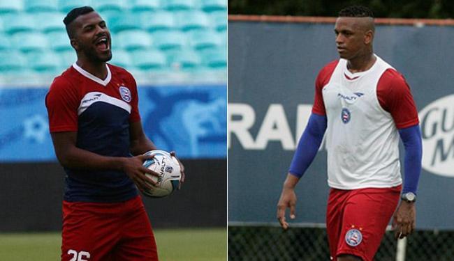 Thales é o favorito para substituir Robson; recém-contratado, Valongo é outra opção de Soares - Foto: Adilton Venegeroles e Margarida Neide | Ag. A TARDE