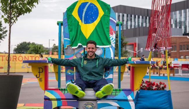 Thiago Pereira é o brasileiro com maior número de medalhas de ouro em Jogos Pan-americanos (12) - Foto: Reprodução   COB