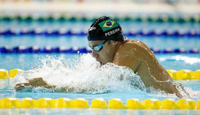 Thiago Pereira conseguiu a sua 22ª medalha e igualou recorde histórico - Foto: Erich Schlegel-USA TODAY Sports l Reuters