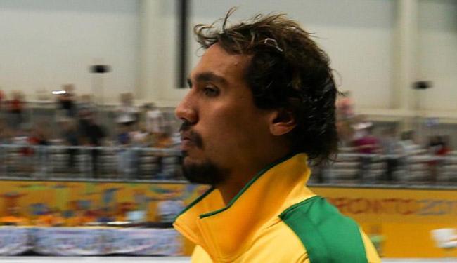 Thye Bezerra está em Kazan, na Rússia, onde a equipe vai disputar o Mundial de Esportes Aquáticos - Foto: Andre Chaco l Fotoarena